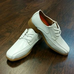 Other - Boy's White Formal Dress Shoe